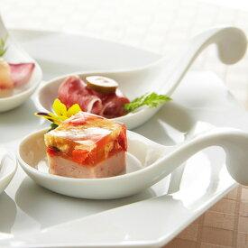 サークル ガーニッシュ アウトレット含む 日本製 磁器 食器 白 前菜 付け合せ デザート スプーン 陶器 アミューズスプーン お皿 おしゃれ 白い食器