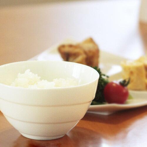 スパイラル ライスボール(アウトレット含む)【日本製 磁器】【白い食器 茶碗 白 茶わん プチ丼 ご飯茶碗】