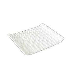 和のスイーツプレート (アウトレット)日本製 磁器 白い食器 小皿 和菓子皿 美濃焼 食器 白 プレート 皿 おしゃれ 編み目