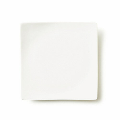ALPHA アルファ 22cm 正角皿 (アウトレット含む)【日本製 磁器】【白い食器 スクエアプレート 中皿 業務用食器 食器 白 プレート 皿 白 食器 おしゃれ 四角 皿】【RCP】05P03Dec16