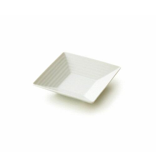 NN 12cm スクエアプレート(アウトレット含む)【日本製 磁器】【白い食器 角皿 取り皿 業務用食器 食器 白 プレート 皿 白 食器 おしゃれ 四角 皿】