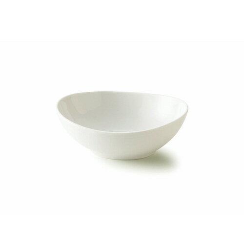 フリースタイル 18cm オーバルボール(アウトレット含む)【日本製 磁器】【白い食器 マルチボウル シリアルボウル スープボウル 食器 白 プレート 皿 白 食器 おしゃれ 煮物鉢】