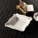 スクエア アッシュトレイ(アウトレット含む)【日本製 磁器】【灰皿 陶器 白 磁器製 業務用 陶器灰皿】【RCP】05P03Dec16