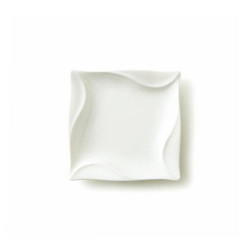 CYCLONE サイクロン 15cm角皿(アウトレット含む)【日本製 磁器】【白い食器 スクエア 取り皿 おしゃれ 業務用食器 食器 白 プレート 皿 白 食器 四角 皿】