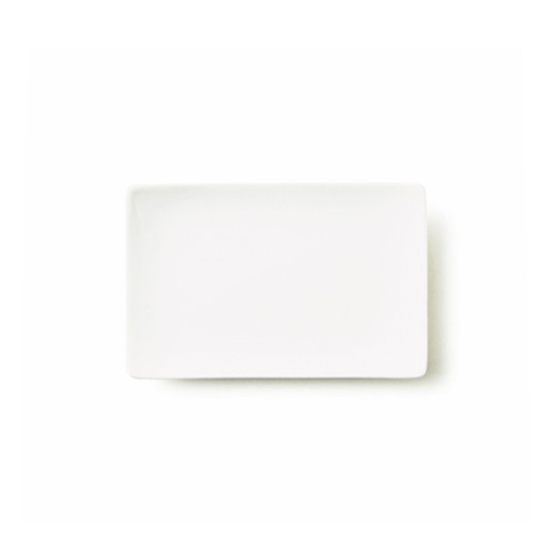ALPHA アルファ 18×12cm 長角皿S(アウトレット含む)【日本製 磁器】【白い食器 取り皿 角皿 スクエア 魚皿 業務用食器 食器 白 プレート 皿 白 食器 おしゃれ レクタングル】