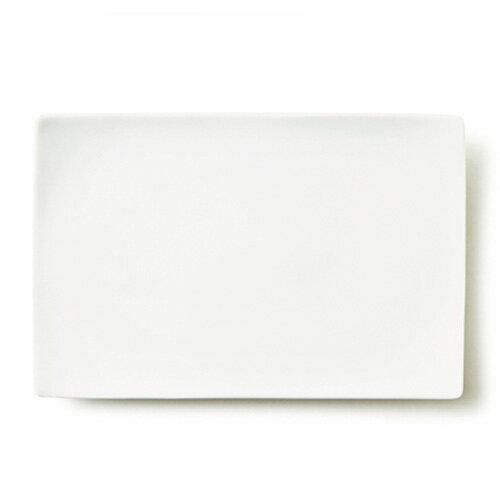 【SUPER OUTLET】ALPHA アルファ 30×20cm 長角皿L【日本製 磁器】【白い食器 大皿 ランチ スクエア】【RCP】