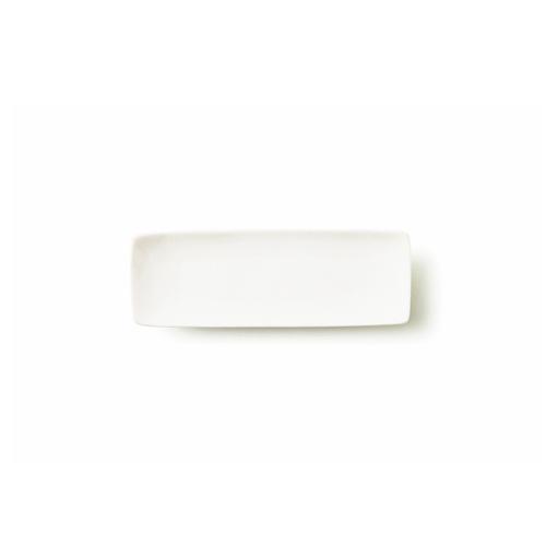 ALPHA アルファ 18×6cm 細長角皿S アウトレット含む 白い食器 日本製 磁器 角皿 スクエア 小魚皿 業務用食器 おしぼり台 食器 白 プレート 皿 おしゃれ レクタングル