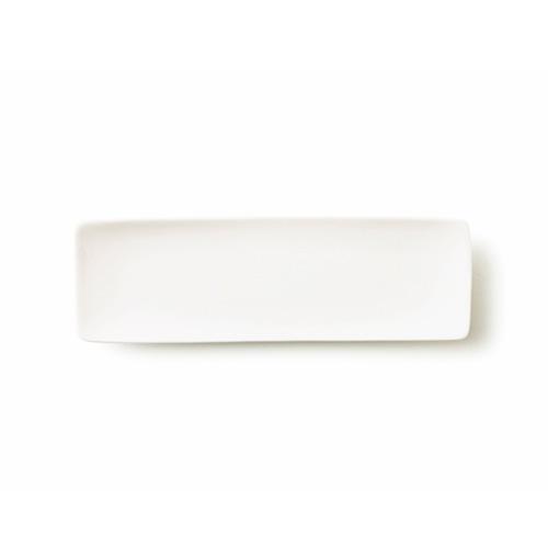 ALPHA アルファ 24×8cm 細長角皿M(アウトレット含む)【日本製 磁器】【白い食器 角皿 スクエア 魚皿 業務用食器 食器 白 プレート 皿 白 食器 おしゃれ レクタングル】