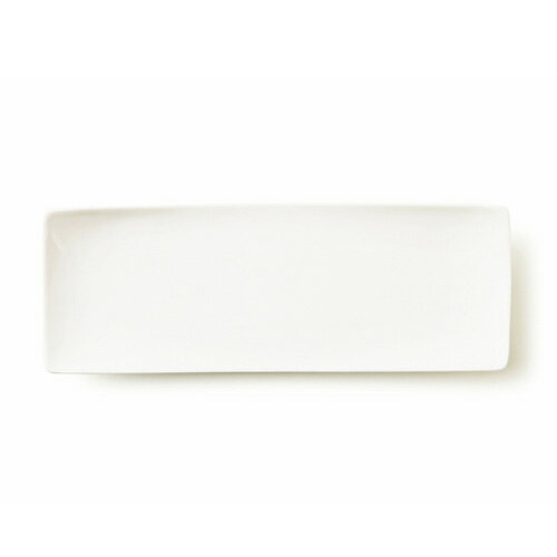 ALPHA アルファ 30×10cm 細長角皿L(アウトレット含む)【日本製 磁器】【白い食器 角皿 スクエア 魚皿 さんま皿 食器 白 プレート 皿 白 食器 おしゃれ レクタングル 業務用食器】