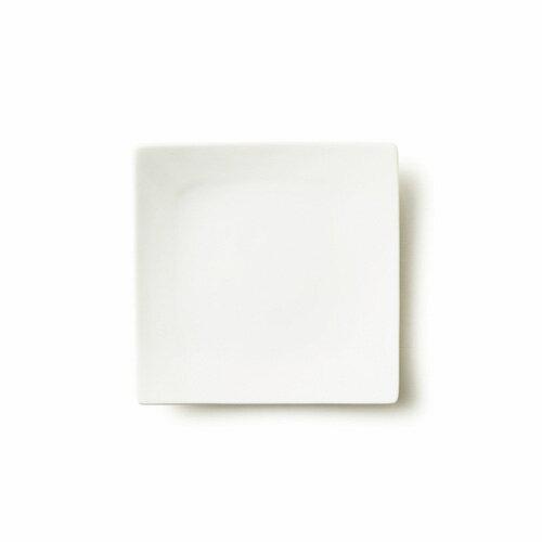 ALPHA アルファ 16cm 正角皿(アウトレット含む)【日本製 磁器】【白い食器 取り皿 おしゃれ 角皿 スクエア プレート 業務用食器 ホワイト 食器 白 四角 お皿】