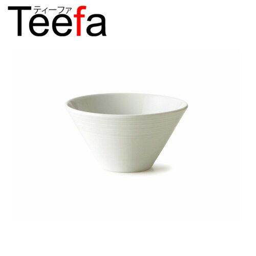Teefa ティーファ 16cm深ボウル Mサイズ(アウトレット含む)【日本製 磁器】【業務用食器 中鉢 シリアルボウル 丼 どんぶり つけ麺鉢 食器 白 プレート 皿 白 食器 おしゃれ】