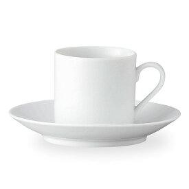 ノーブルホワイト コーヒーカップ & ソーサー コーヒー碗皿 コーヒー碗 受皿 白い食器 cafe カフェ 食器 おしゃれ オシャレ 業務用 日本製