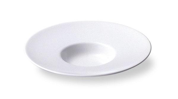 スープセレクション 【ワイドリム】 20cm 平型スープ 皿 【白い食器 レストラン カフェ 食器 おしゃれ 業務用食器 日本製】