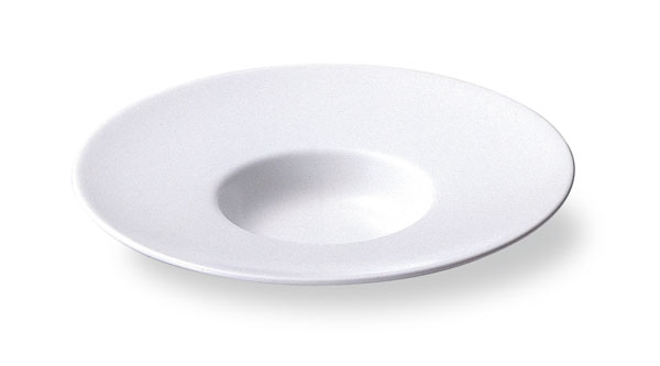 スープセレクション 【ワイドリム】 24cm 平型スープ 皿 【白い食器 レストラン カフェ 食器 おしゃれ 業務用食器 日本製】