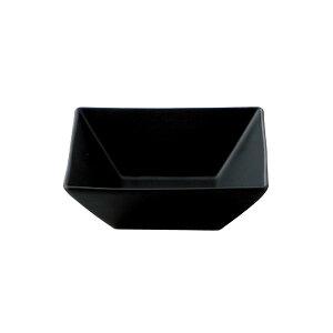 黒マットスクエア正角鉢12cm