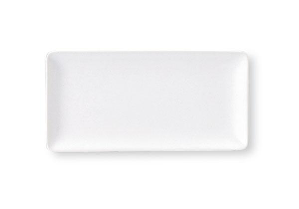 スクエア(角皿) 24cm長角皿 【白い食器 レストラン カフェ 食器 業務用食器 日本製】