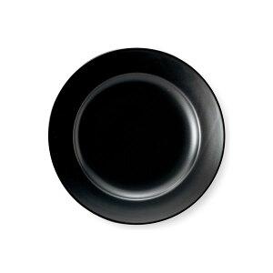 エクシブ 17cm パン皿 パンプレート 小皿 黒マット 黒い食器 cafe カフェ 食器 おしゃれ オシャレ 業務用 日本製