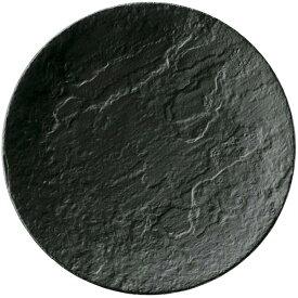 メテオ 27cm ディナー皿 ディナープレート 大皿 BK (ブラック) cafe カフェ 食器 おしゃれ オシャレ 業務用 日本製
