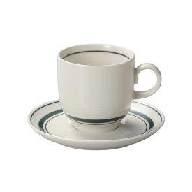 スノートングリーン アメリカンコーヒーカップ & ソーサー コーヒー碗皿 コーヒー碗 受皿 カントリー cafe カフェ 食器 おしゃれ オシャレ 業務用 日本製