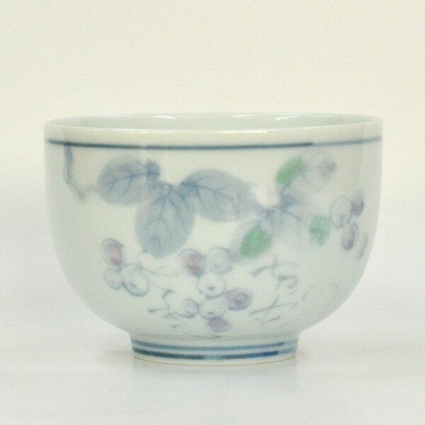野ぶどう 煎茶碗