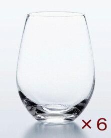 【ポイント5倍!!期間限定】 ウォーターバリエーション タンブラー 490ml 6個セット 東洋佐々木ガラス ステムレス ワイングラス おしゃれ かわいい グラス コップ 食洗機対応 日本製