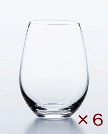ウォーターバリエーション 12タンブラー(360ml) 6個セット 東洋佐々木ガラス ステムレスワイングラス オシャレ 日本製