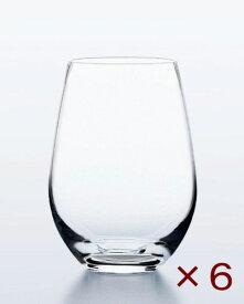ウォーターバリエーション 9タンブラー(275ml) 6個セット 東洋佐々木ガラス ステムレスワイングラス 日本製