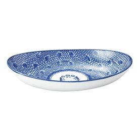 【ポイント5倍!!期間限定】 タイスキ 27cm スリムベーカー エスニック アジアン 食器 皿 タイ ベトナム