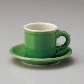 カントリーサイド ジェイド コーヒーカップ & ソーサー カントリー cafe カフェ 食器 おしゃれ 業務用 日本製