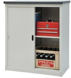 小型物置 AD-9110 ●物置 屋外 収納庫 物置 おしゃれ ベランダ収納庫 屋外 スチール物置