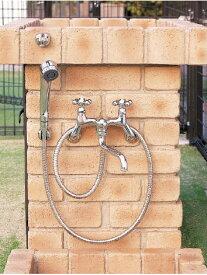 nikko シャワー用水栓金具(カランパイプあり)PF-S4-M(混合栓)