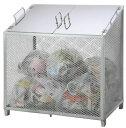 サンカ ダストBOX-S(中仕切り無しタイプ)CS-20 【メッシュゴミ収集庫 ダストボックス・ゴミ保管庫 ゴミステーシ…