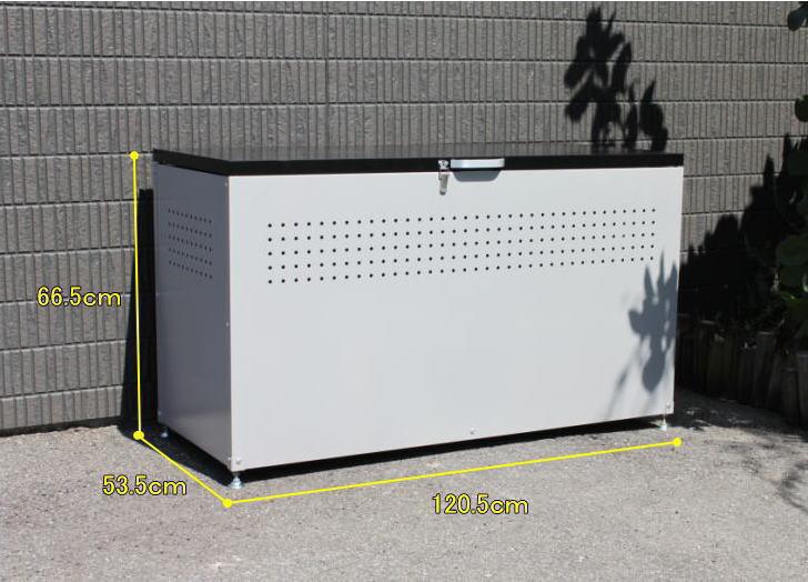 ダイマツ ダストボックス DB-120 リサイクルボックス ゴミ箱 屋外 ゴミステーション