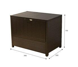 APET 屋外用アルミダストボックス 90 リサイクルボックス ゴミ箱 屋外 ゴミステーション ガーデンボックス Garden Box(倉出し)