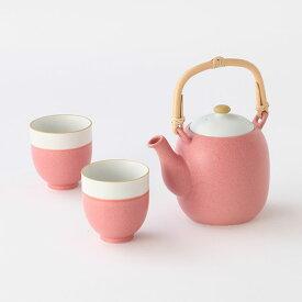 たち吉 桜染 茶器 (石瓶1個・湯呑2個) 1002270033 桜 春のギフト
