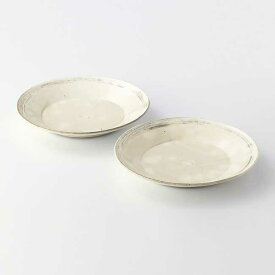 たち吉 浮雲 パスタ皿 2枚 100-200-0002 和食器 プレート 美濃焼 たちきち