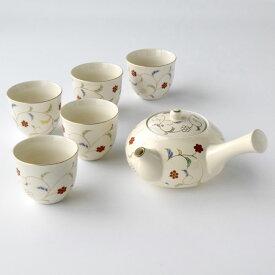 和食器 たち吉 色唐草 茶器 015-0131 おもてなし 急須 湯呑 セット お茶 接客 たちきち