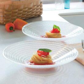たち吉 水音 ペア麺鉢 604-0188 ガラス そうめん 素麺 器 皿 和食器 おしゃれ ガラス器 ガラス皿 たちきち