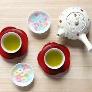 和食器たち吉朱塗梅茶托652-0243