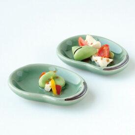 和食器 たち吉 そら豆 豆皿 5枚 303-0061 瀬戸焼 皿 たちきち