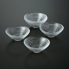 和食器 たち吉 水音 小鉢 604-0186 ガラス 素麺 そうめん 器 たちきち
