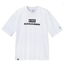 エバーグリーン Bトゥルー ビッグTシャツ Aタイプ ホワイト ビートゥルー B-TRUE ビックTシャツ