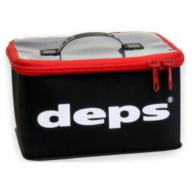 デプス DEPS ツールバッグ ブラックレッド Lサイズ TOOL BAG ツールバック ブラック・レッド