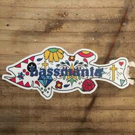 バスマニア(bassmania) Mexican BASSステッカー 【ネコポス配送可】
