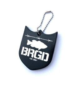 バスブリゲード Shield Logo Key Floater Black 【ネコポス配送可】 シールドロゴ キーフローター バスブリ