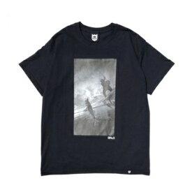 バスブリゲード BRJD Tee #1 - Black/Monochrome  BASS BRIGADE バスブリゲート 【ネコポス配送可】 Tシャツ