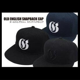 ガンクラフト オールドイングリッシュ スナップバックキャップ OLD ENGLISH SNAPBACK CAP