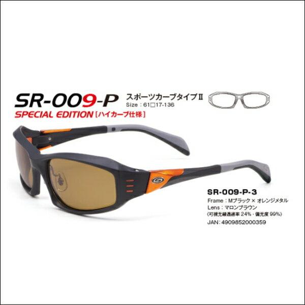 ストームライダー STORM RIDER ファッションカーブタイプ2 SR-009-P  めがねの愛眼