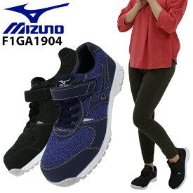 ミズノ 安全靴 オールマイティ FS32L F1GA1904 ローカット 紐 レディース 22.5cm〜25cm