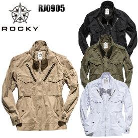 メンズ 作業服 ジャケット ROCKY フライトジャケット RJ0905 レディース オールシーズン用 作業着 単品(上下セットUP対応) SS〜5L